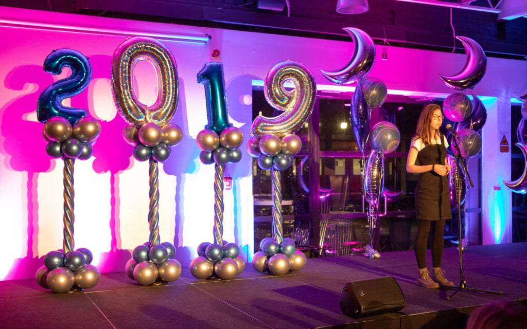 Musical Performance from The College of Haringey, Enfield and North East London, Balloon Sculptures by Capel Manor College