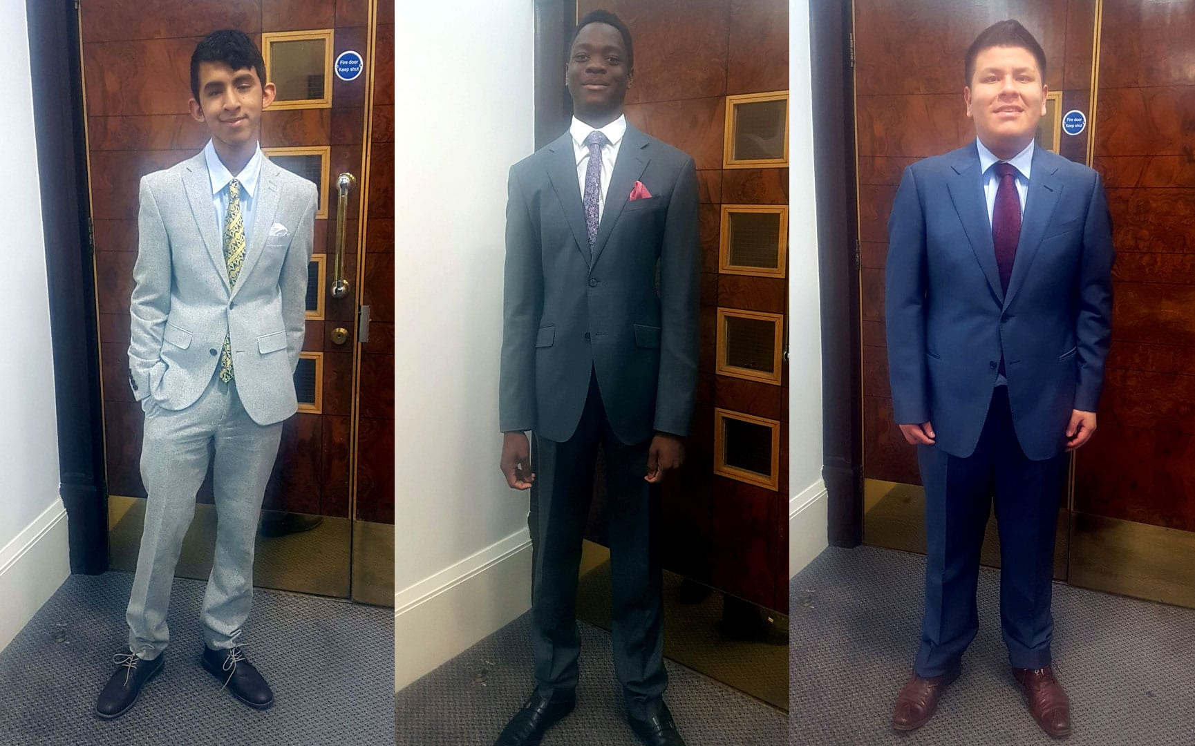 Students Get Suited and Booted